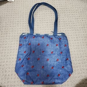👝 LeSportsac Tote with Small Pouch